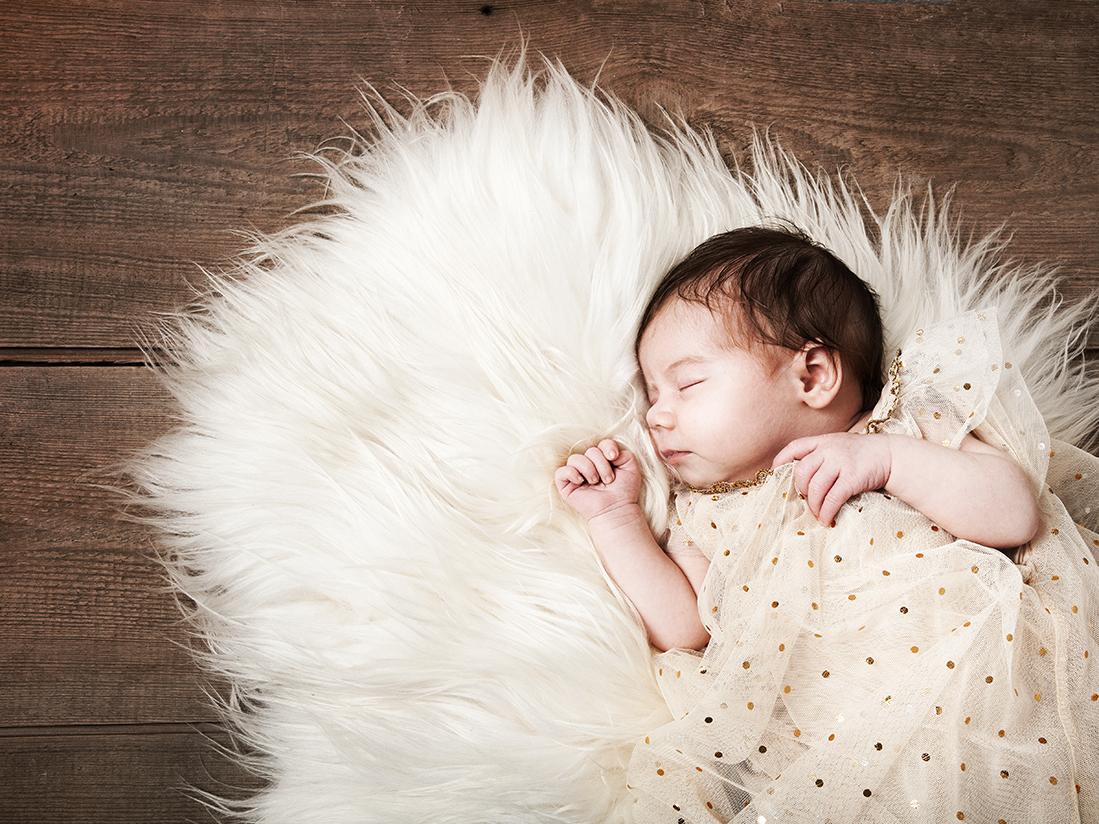 Neugeborenenportrait Sophie, Berlin 2015