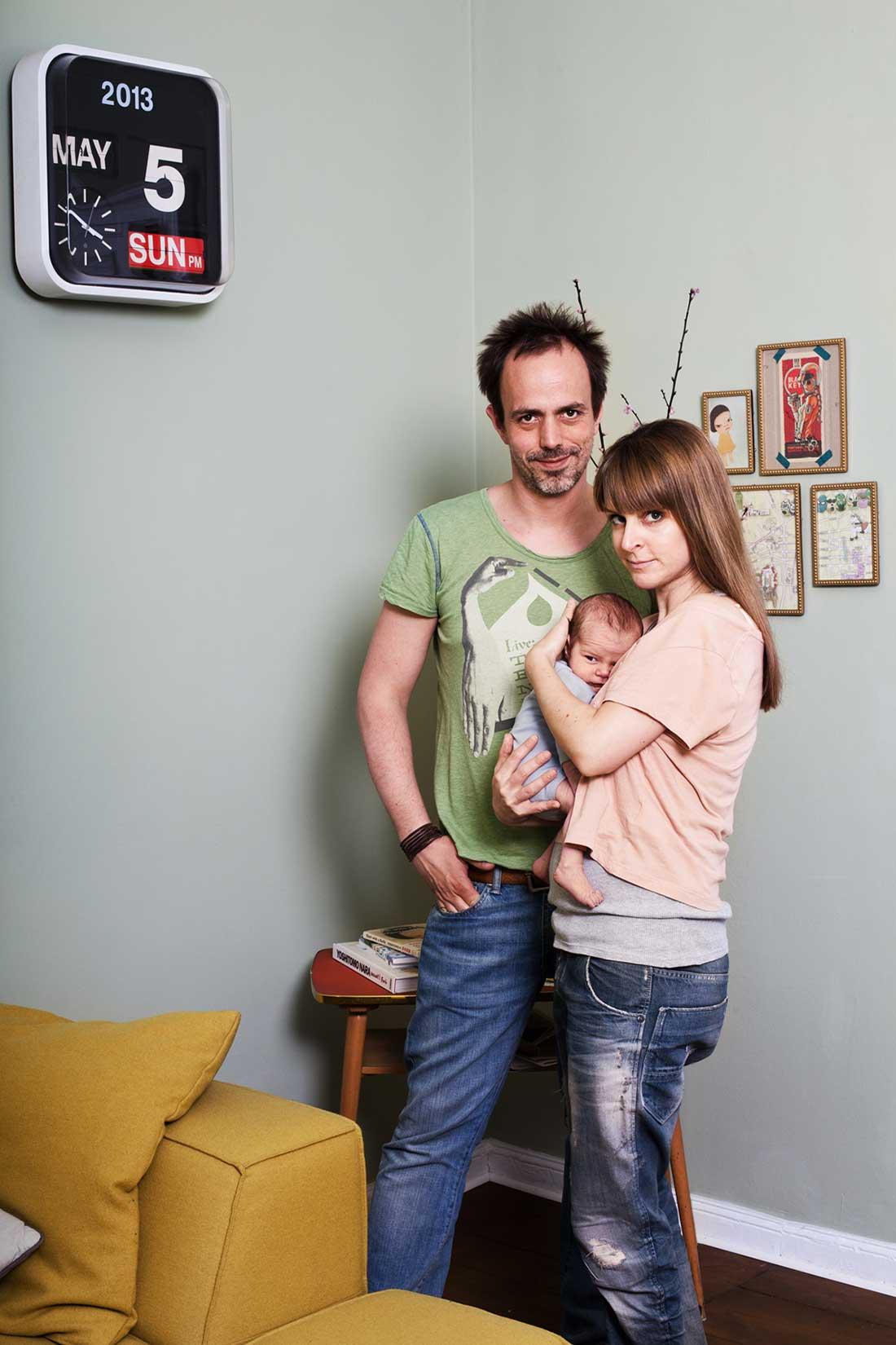 Babyfotografie & Familienportrait, Berlin 2013